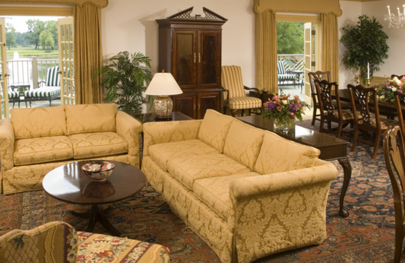 Living Room of Suite at The Founders Inn