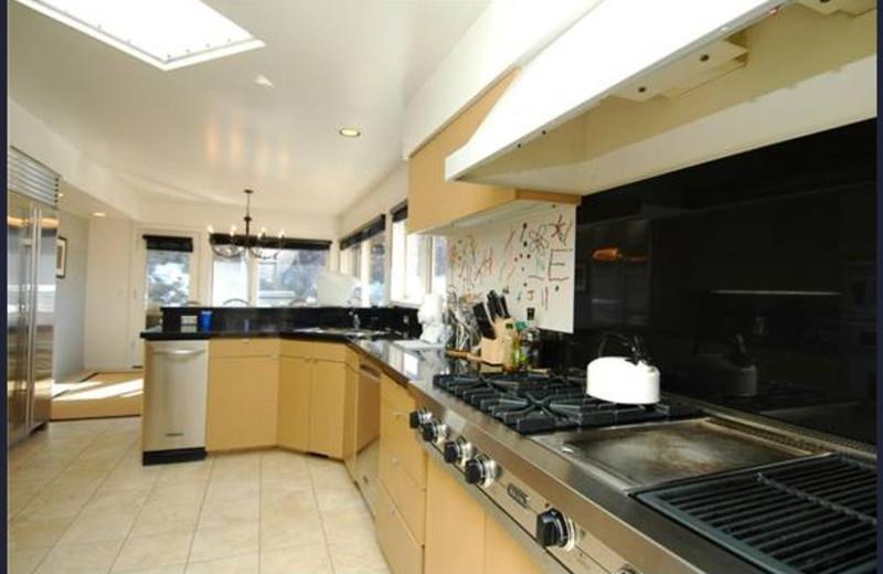Rental kitchen at Frias Properties of Aspen - Red Mountain Retreat.