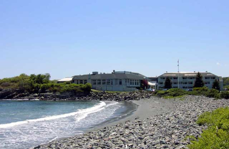 The beach at Stage Neck Inn.