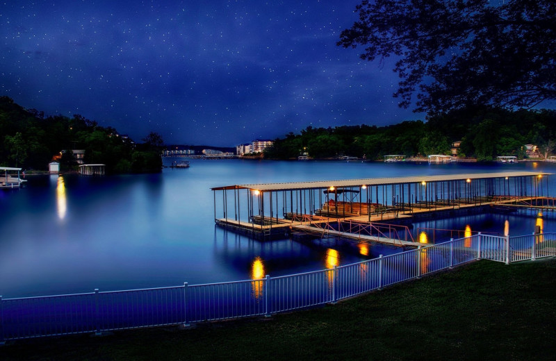 Dock at Point Randall Resort.