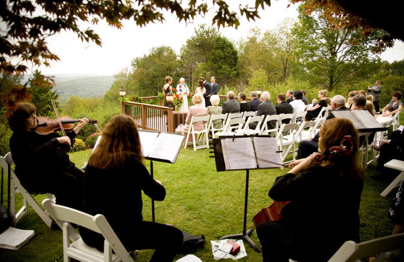 Wedding at The French Manor Inn and Spa.
