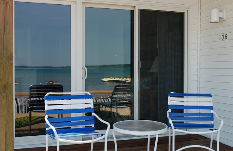 Porch view at The Beach Condominiums Hotel-Resort.