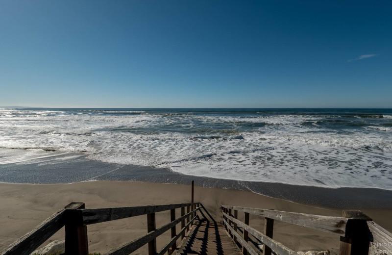Beach at Pajaro Dunes Resort.