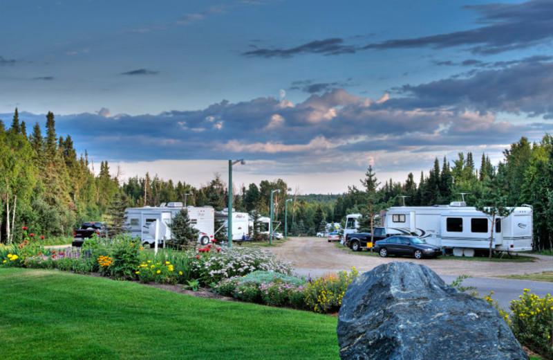 RV camps at Elk Ridge Resort.