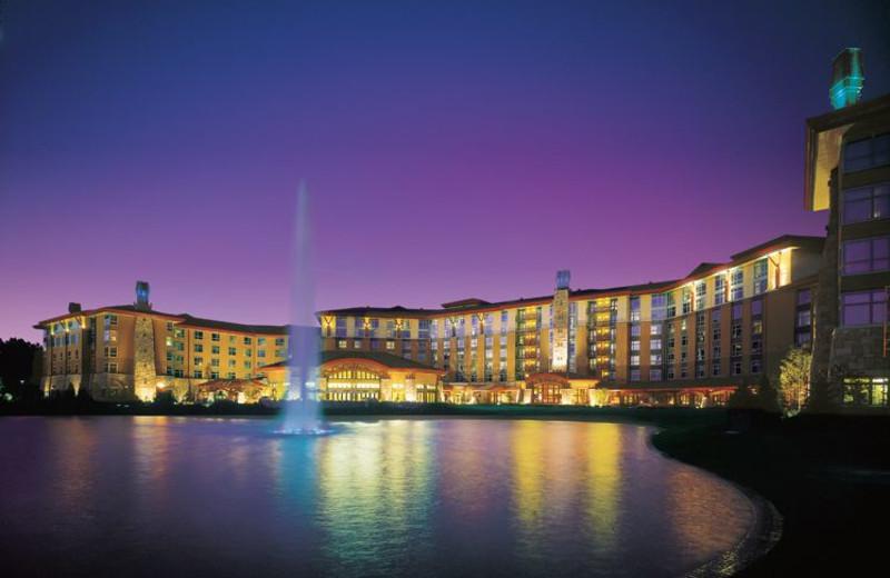 Exterior view of Soaring Eagle Casino & Resort.