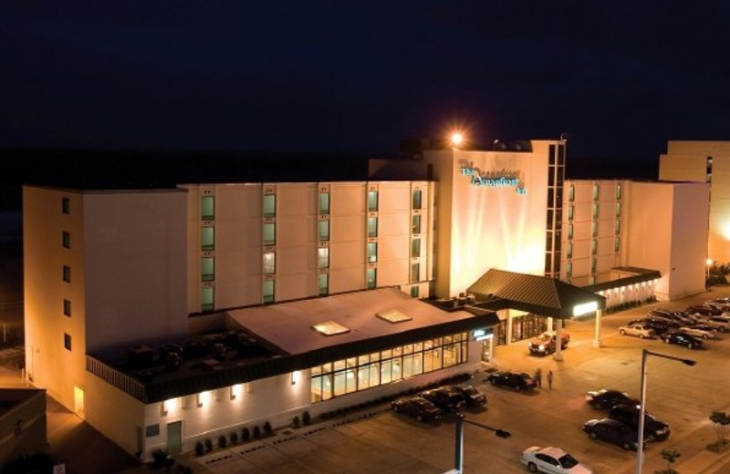 Exterior view of The Oceanfront Inn.
