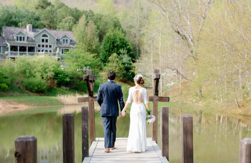Weddings at Yonder Luxury Vacation Rentals.