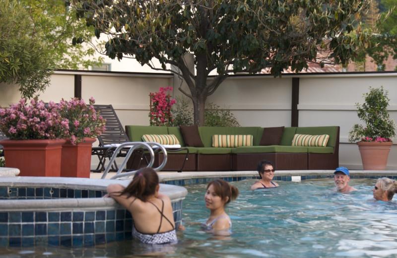 Pool time at Roman Spa Hot Springs Resort.