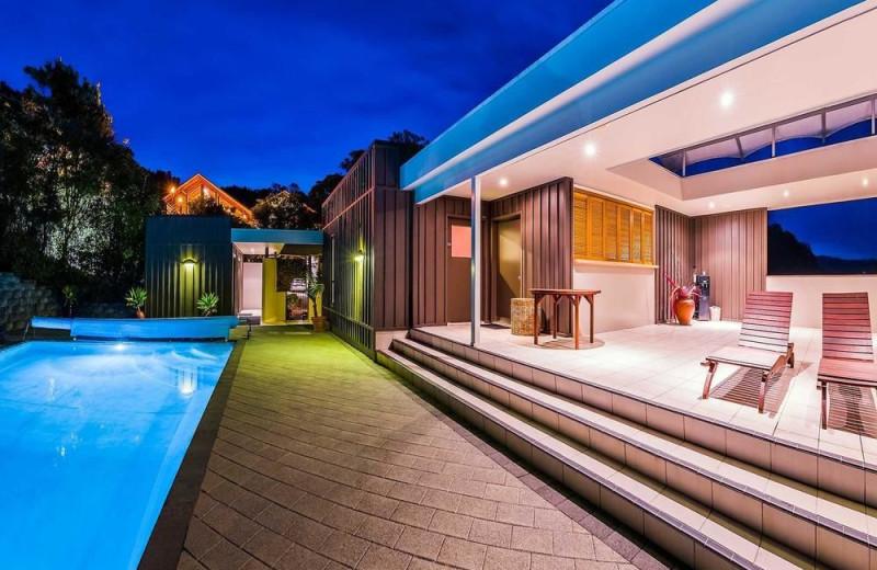 Outdoor pool at Puka Park Resort.