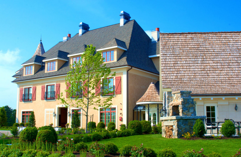 Exterior View of Mirbeau Inn & Spa Pinehills