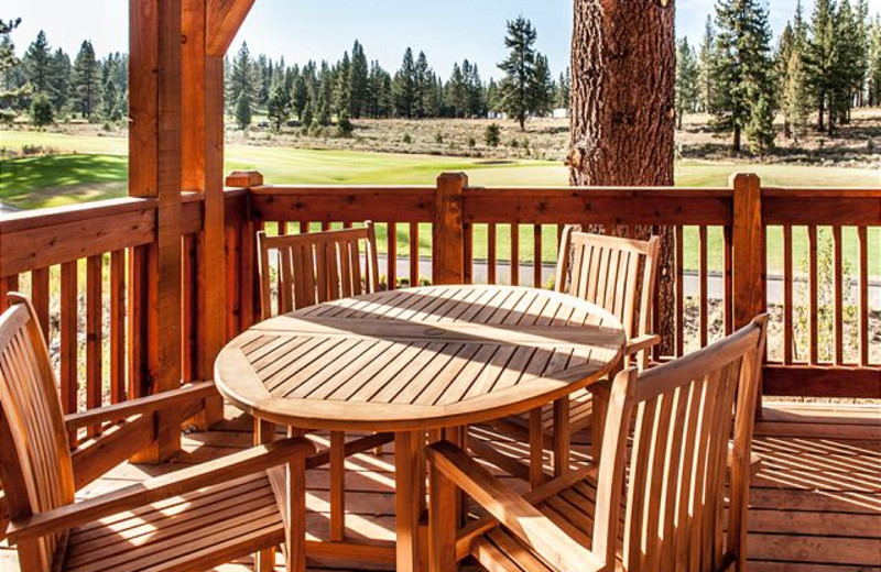 Private Deck at Tahoe Signature Properties