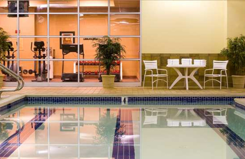 Indoor Pool at the Hilton Scranton & Conference Center