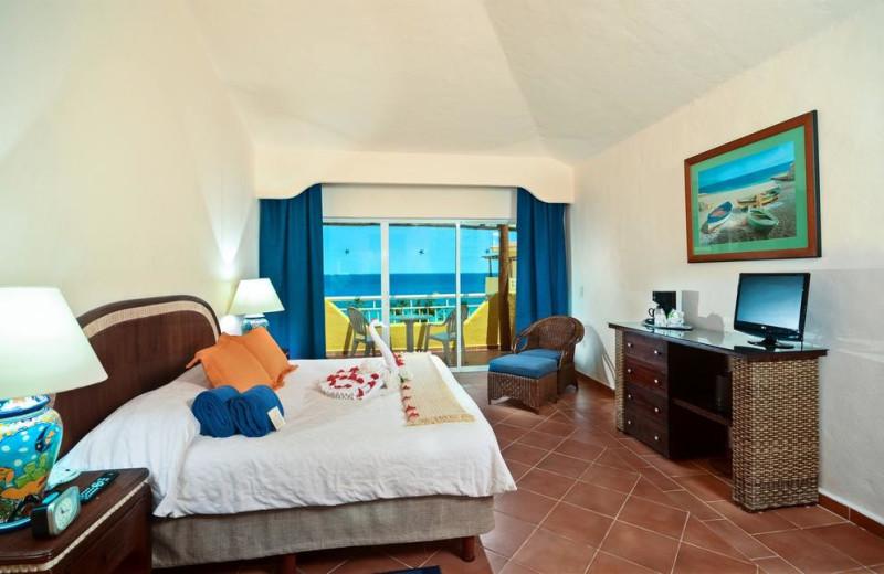 Guest room at Playa Azul Hotel.