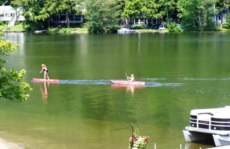 Kayaking at HighWinds Lodge & Cottages.
