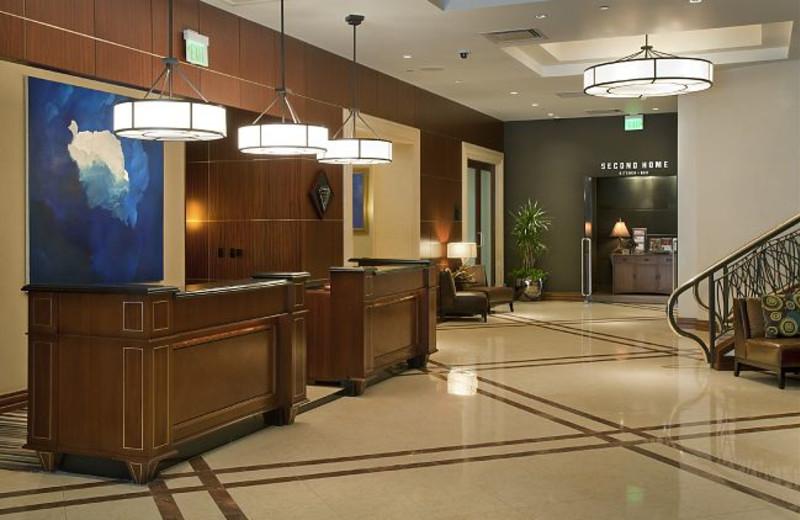 Hotel Lobby at JW Marriott Denver