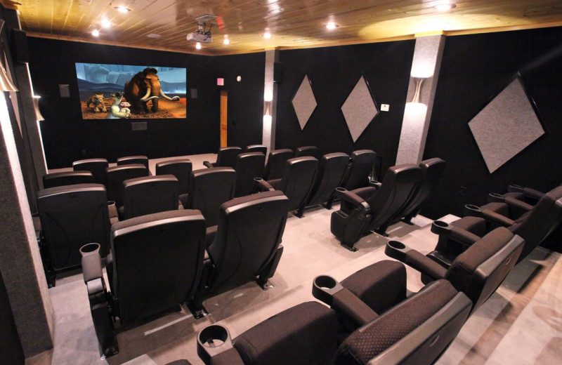 Rental theater at Eden Crest Vacation Rentals, Inc.