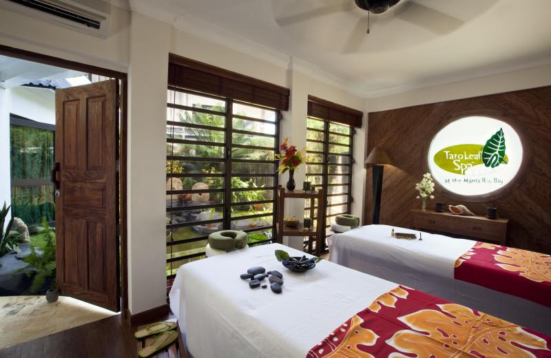 Spa at Manta Ray Bay Hotel & Yap Divers.