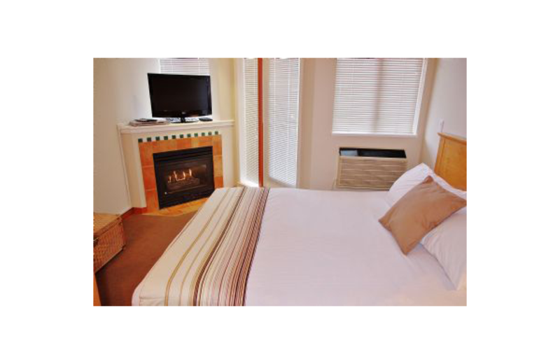 Guest room at Mountain View Accommodation.