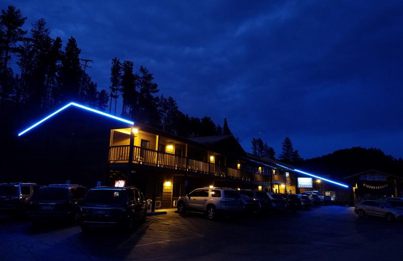 Rushmore Express at night
