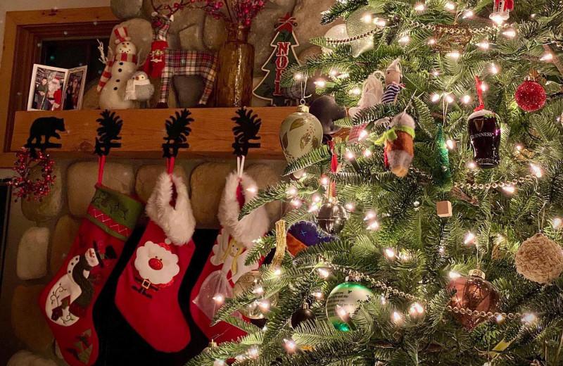 Christmas at Cascade Lodge.