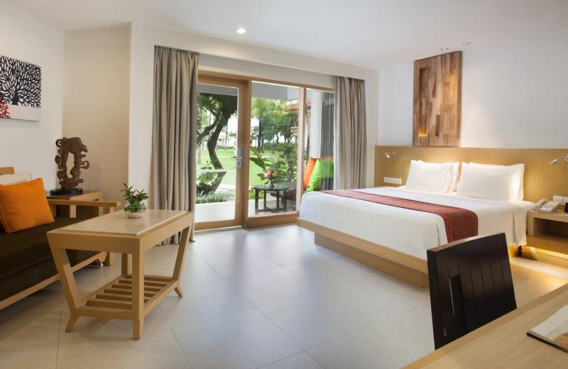 Guest room at Holiday Inn Resort Balihai.