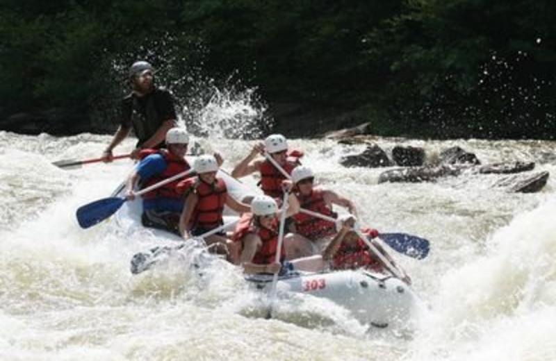 White Water Rafting at JP Ridgeland Cabin Rentals