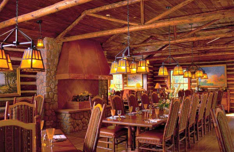 Dining room at The Ranch at Emerald Valley.