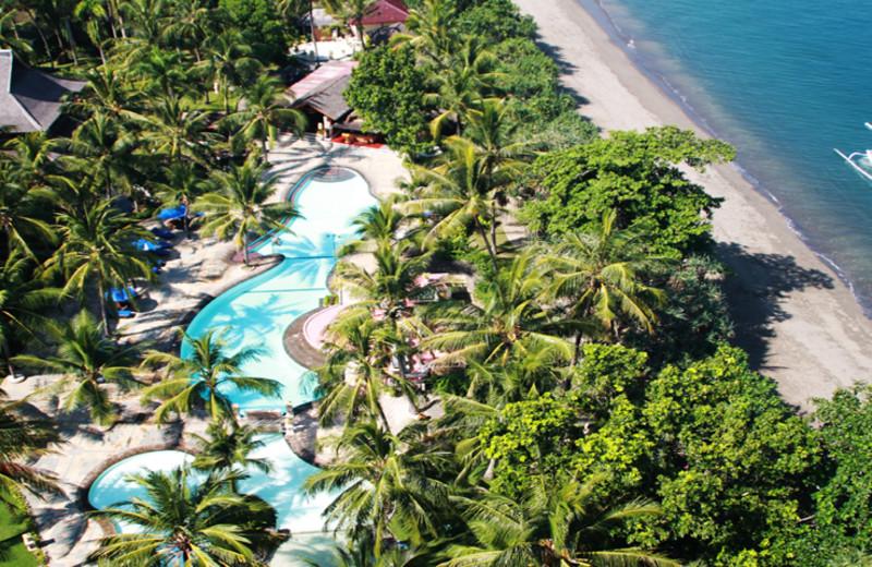 Outdoor pool at Jayakarta Lombok.