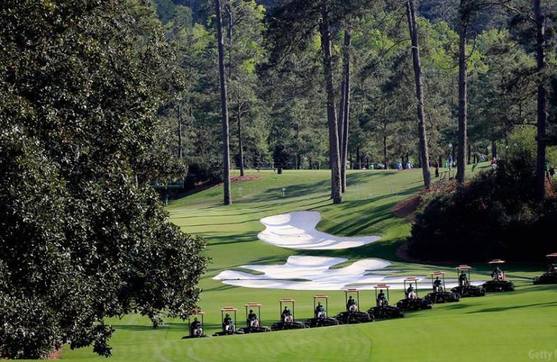 Golf course near near Georgia Mountain Cabin Rentals.