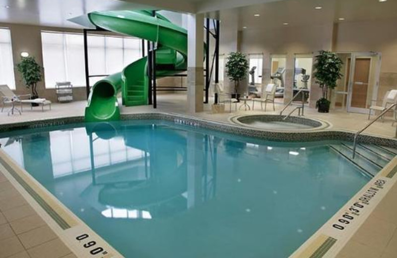Indoor Pool at the Fairfield Inn & Suites Guelph