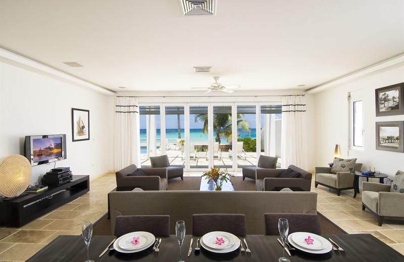 Vacation rental interior at Coral Beach Club.