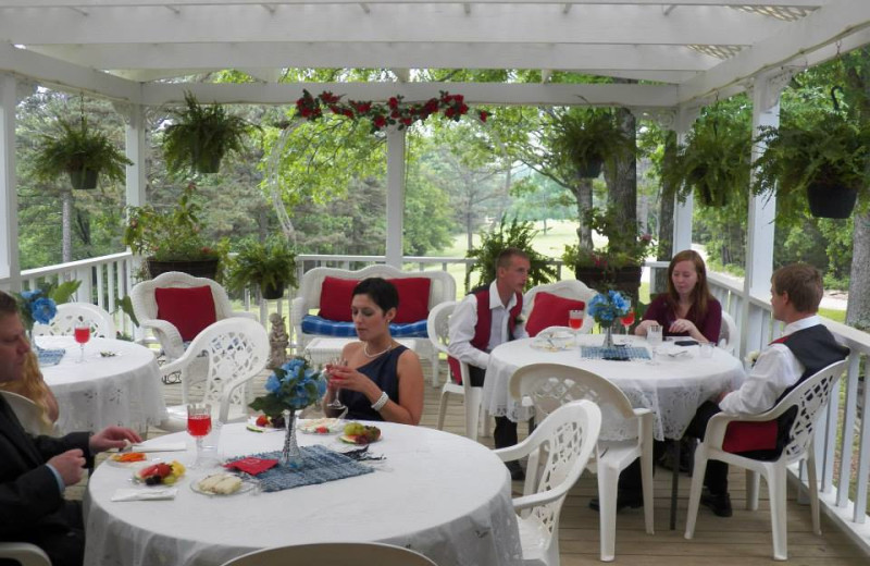 Terrace Reception at Red Bud Valley Resort