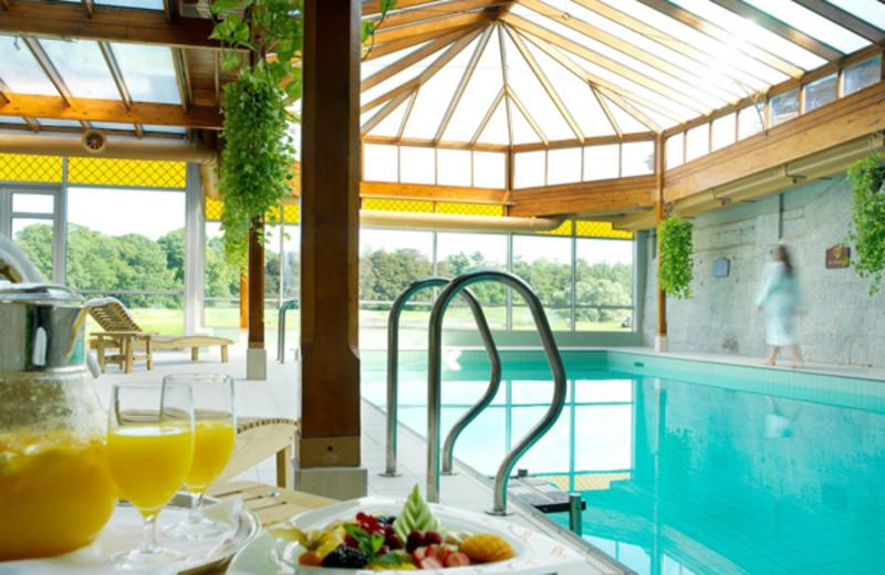 Indoor pool at Adare Manor Limerick.