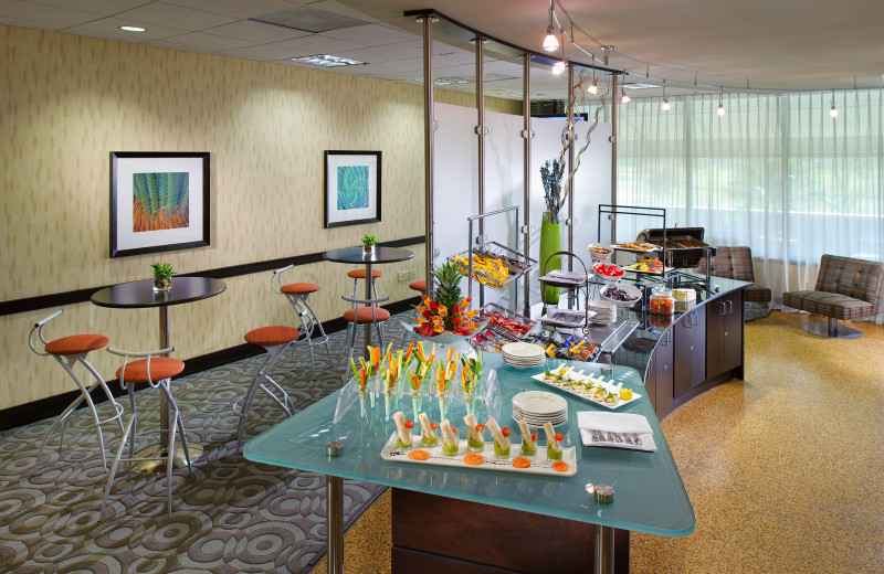 Snack room at Sheraton Miami Airport Hotel.