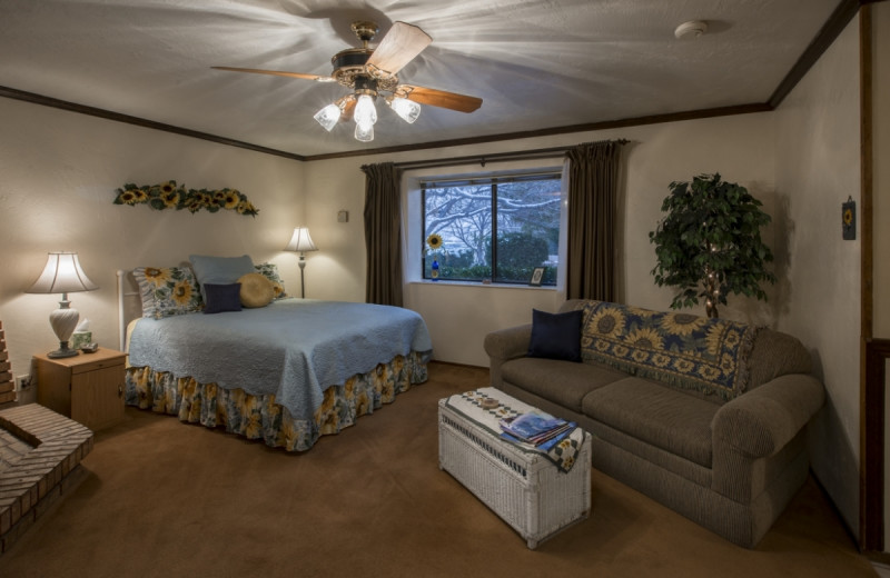 Guest room at Canyon Colors.
