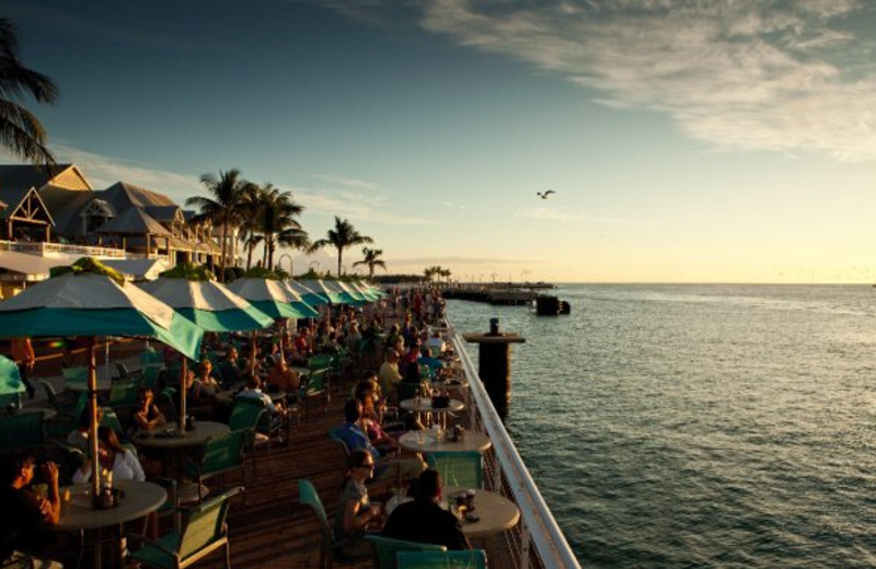 Outdoor dining at The Westin Key West Resort.