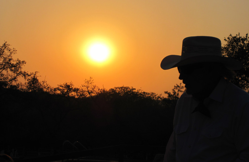 Sunset at Rancho Cortez.