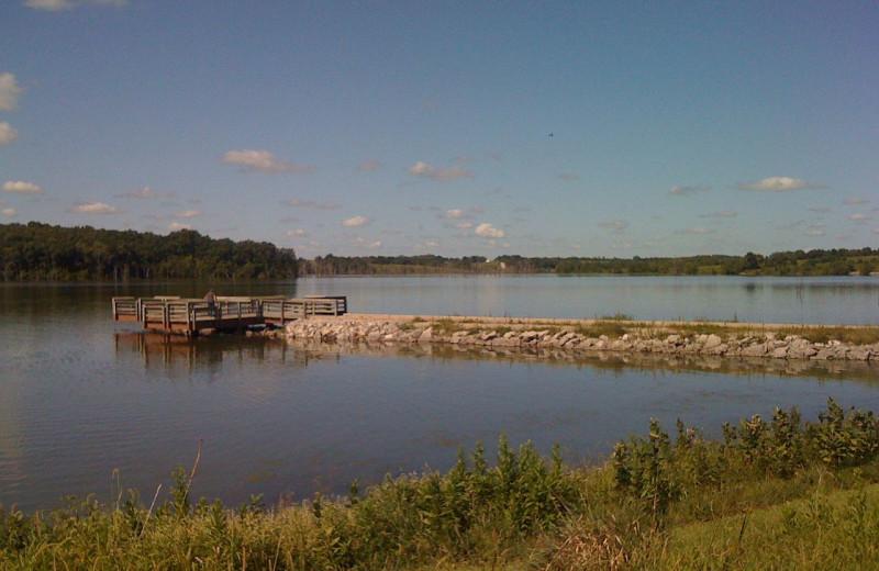 Lake near The Lodge at Windy Ridge.