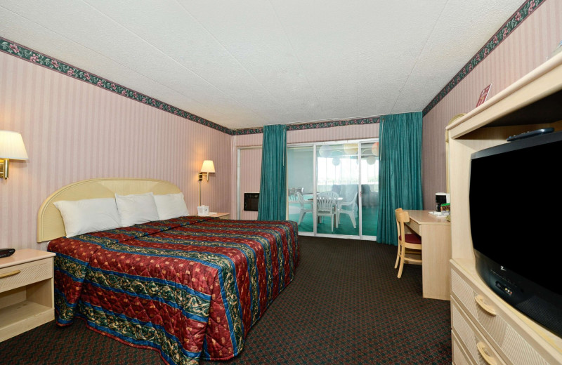 Guest room at America's Best Value Inn - Benton Harbor.
