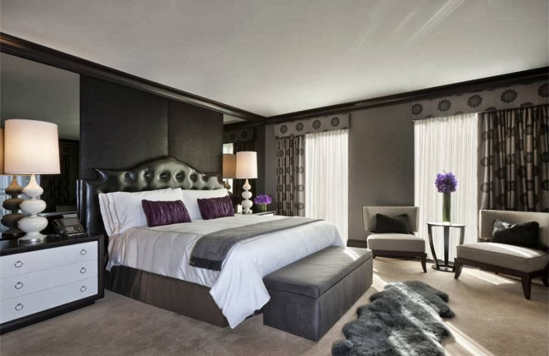 Guest room at Elysian Hotel.