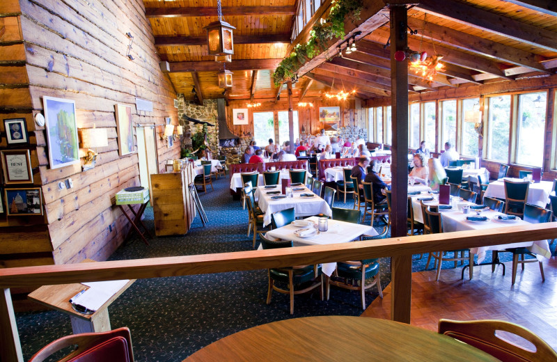 Restaurant view at Holiday Acres Resort.