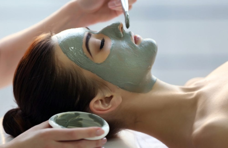 Spa facial at Villa Roma Resort and Conference Center.