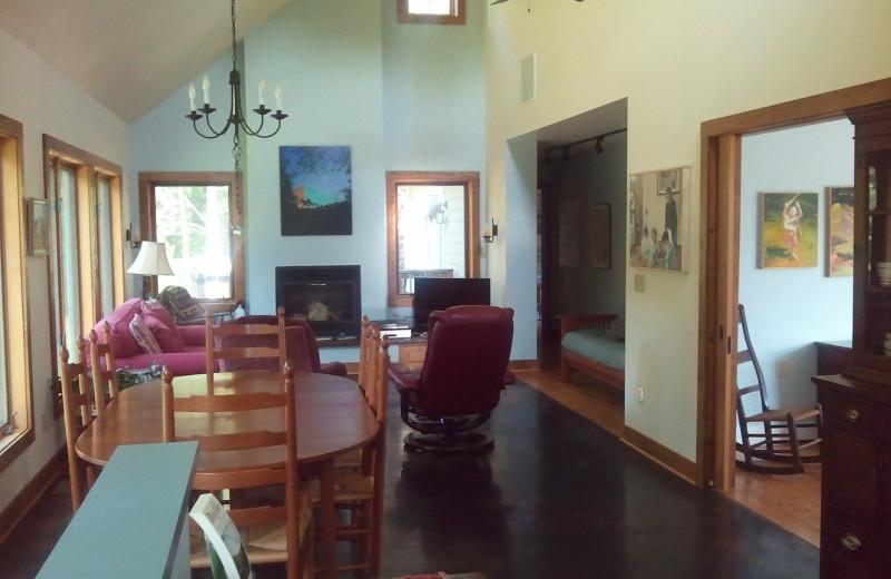 Rental Interior at Montfair Resort Farm