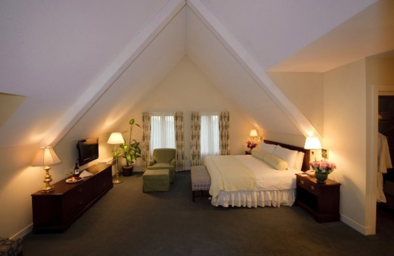 Guest room at Cranwell Resort.