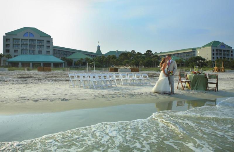 Beach View at  The Westin Hilton