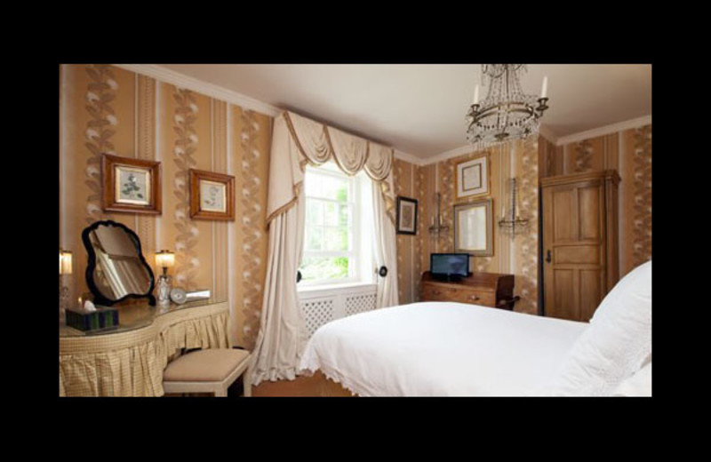 Guest room at Fisherman's House.