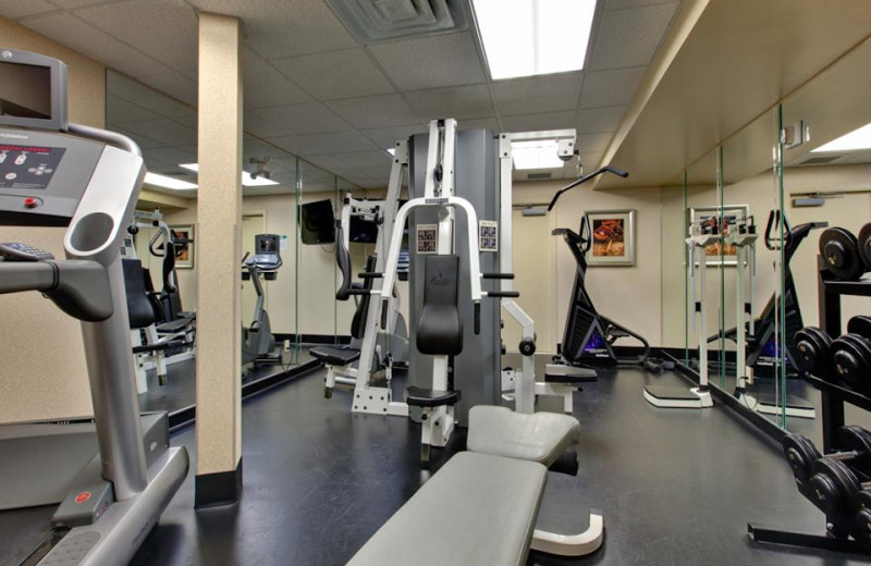 Fitness Center at Holiday Inn Canmore