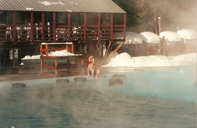 Hot Springs Pool at Silver Creek Plunge