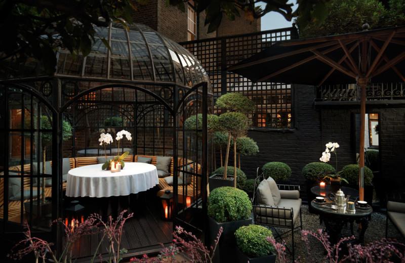 Garden at Blake's Hotel.