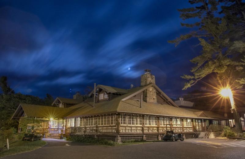 Exterior view of Keweenaw Mountain Lodge.